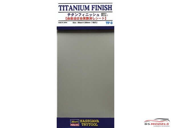 HAS71803 Titanium Finish  TF3  Trytool selfadhesive decal Decal