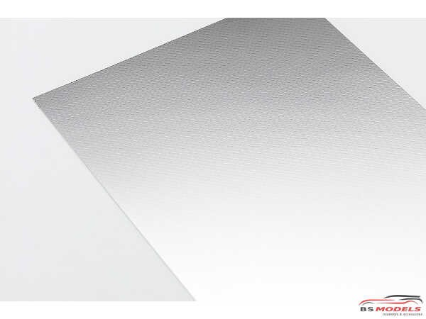 HAS71932 Checker Plate Finish  A (Stainless)  TF932  Trytool selfadhesive decal Decal
