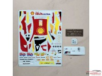 SK24081 BMW M6 GT3  FIA GT World Cup Macau winner   #42  Farfus Waterslide decal Decal