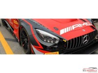 SKTK007 Mercedes AMG GT3  Headlight Set Resin Transkit