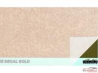 SKchroomgold Chroom gold decal Waterslide decal Decal