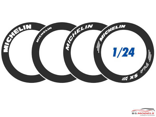 BS24-011 Michelin Tyres markings Waterslide decal Decal