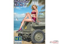 MB24006 Pin-up series #6  Samantha Plastic Kit