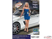 MB24020 Dangerous curves series  Sloan vegas Baby Plastic Kit