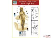 MB24020 Dangerous curves series  Sloan vegas Baby Plastic Kit