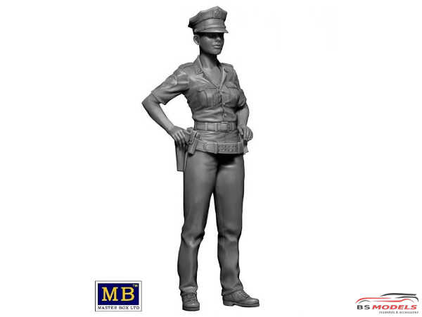 """MB24027 Ashley NYPD  """"Field Interview""""  figure Plastic Kit"""