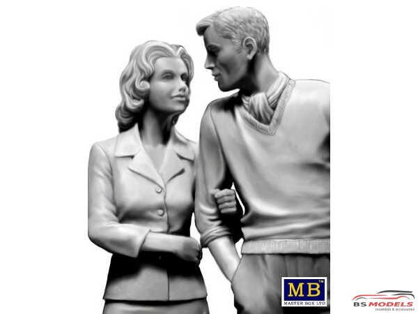 MB24029 Bob and Sally the Happy Couple Plastic Kit