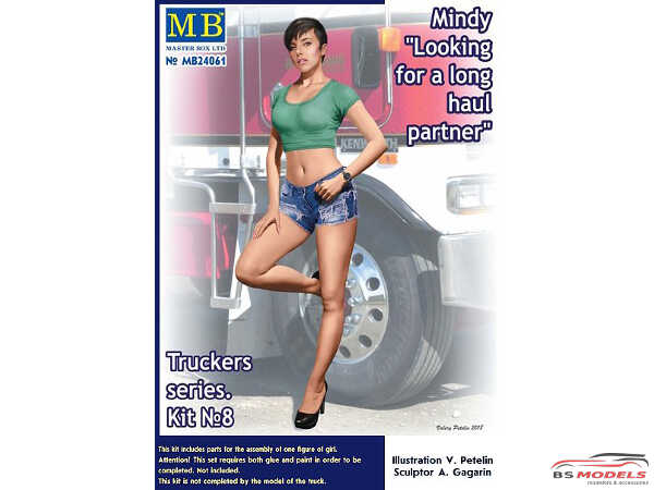 MB24061 Looking for a Haul partner Mindy Plastic Kit