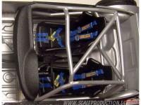 SPE24007 Seat belt buckles set of 4 Etched metal Accessoires