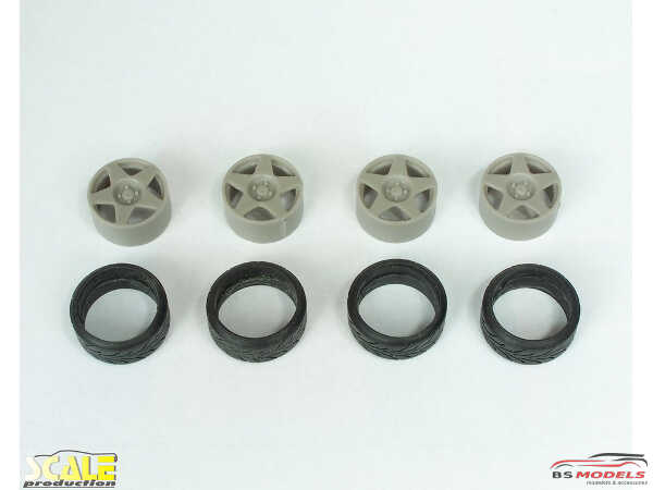 "SPRF24127 18"" Fifteen 52 Tarmac  wheels + tires (tread) Multimedia Accessoires"