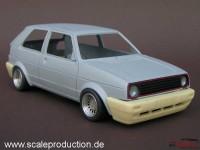 SPTKGL Volkswagen Golf 2   GL bumpers Resin Transkit