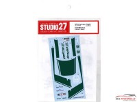 STU27DC1185 Mclaren MP4-12C  Dubai Police Waterslide decal Accessoires