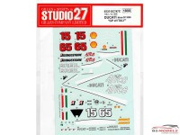 STU27DC747C Ducati Desmocedici  GP of Italy 2006 Waterslide decal Accessoires