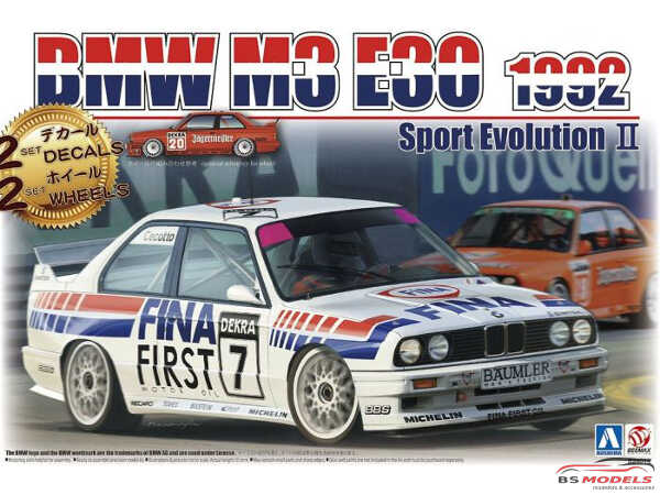 BEE24019 BMW M3 E30  Sport Evolution II  1992 Plastic Kit