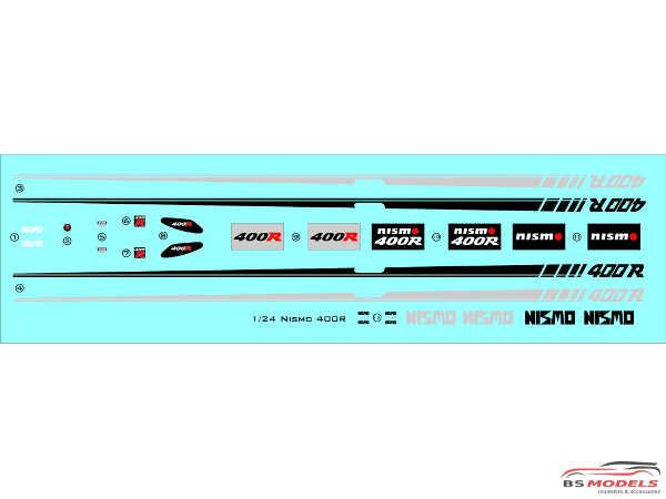 C1TK019 Nismo 400R Transkit Resin Transkit