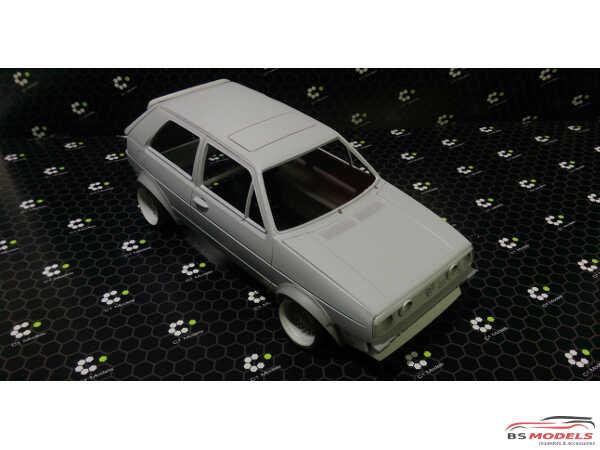 C1TK020B Voomeran / Euro Magic  Golf 2 (no wheels or decals) Transkit Resin Transkit