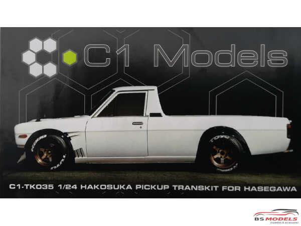 C1TK035 Hakosuka Datsun Sunny pickup Transkit Resin Transkit
