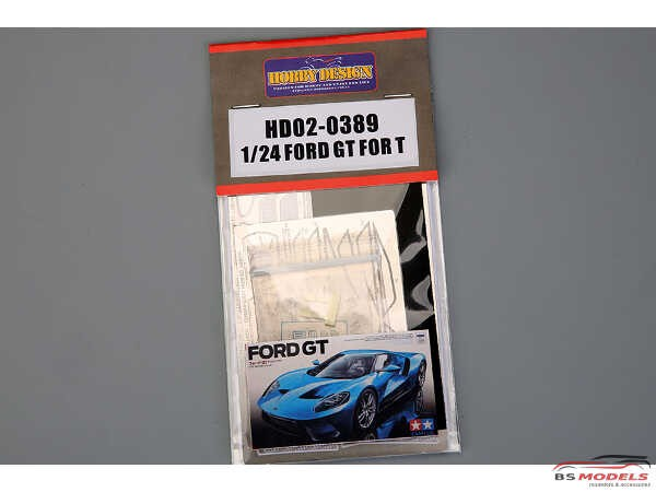 HD020389 Ford GT  detail set (For Tamiya) Multimedia Accessoires