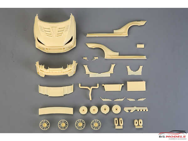 HD030539 Varis Mitsubishi Lancer EVO X  widebody kit for AOS EVO X Multimedia Transkit
