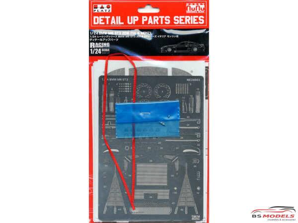 PLZPN24003UP BMW M6 GT3 2016 Italia Monza / Bathurst detail parts set Multimedia Accessoires