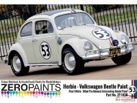 ZP1439 Herbie #53 Volkswagen Beetle paint 60 ml Paint Material