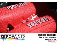 ZP1577 Red Textured Paint   30ml Paint Material