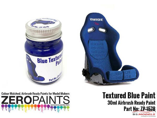 ZP1578 Blue Textured Paint 30ml Paint Material
