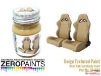 ZP1582 Beige Textured Paint  30ml Paint Material