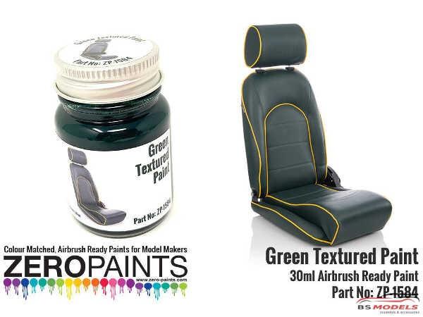 ZP1584 Green Textured Paint 30ml Paint Material