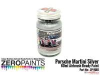 ZP1587 Porsche 911 Martini Silver paint 60 ml Paint Material