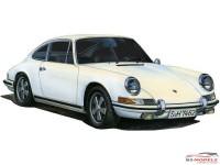 FUJ12668 Porsche 911S  Coupe '69 Plastic Kit