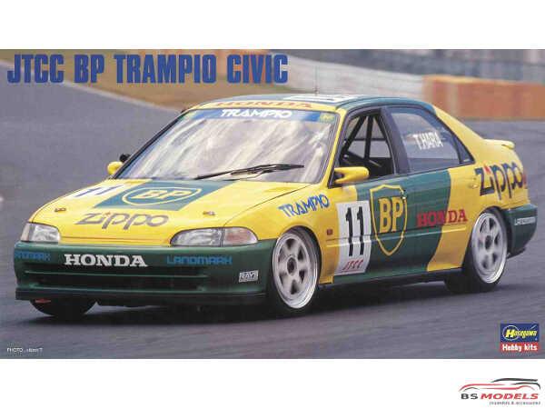 HAS20347 JTCC  BP Trampio Honda Civic Plastic Kit