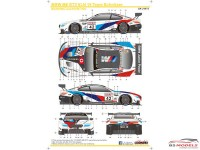SK24075 BMW M6 GT3  VLN 18  Team Schnitzer  #42 Waterslide decal Decal