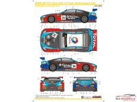 SK24085 BMW M6 GT3 Spa 24H  '18  Team Walkenhorst #34 Waterslide decal Decal