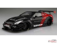 "AOS05592 LB Works R35 GT-R Type 2 Ver 2 ""Advan"" Plastic Kit"