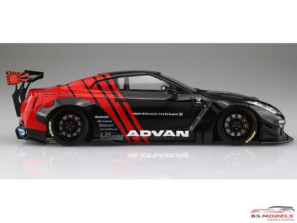 "AOS05592 LB Works R35 GT-R Type 2 Ver 2 ""Advan"" Plastic Kit"