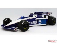 BEE20004 Brabham BT52B  European GP 1983  #5/6 Piquet / Patrese Plastic Kit