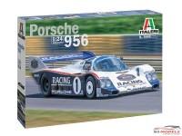 ITA3648S Porsche 956 Plastic Kit