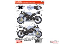 "STU27DC1224 YZR-R1M ""Tech21"" dress up decal Waterslide decal Decal"