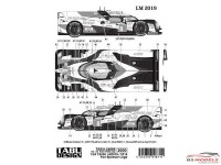 TABU24085 Toyota TS050 LM 2018-2019 Full sponsor logo Waterslide decal Decal