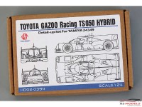 HD020394 Toyota Gazoo Racing TS050  Hybrid detail set for TAM 24349 Multimedia Accessoires