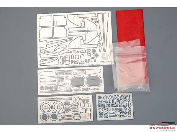 HD020394 Toyota Gazoo Racing TS050  Hybrid detail set for TAM 24349 Multimedia Accessoires
