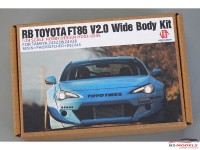 HD030545 RB Toyota FT86 V2.0 Wide Body kit for TAM 24323 - 24336 Multimedia Transkit