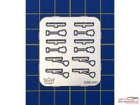 HME041 Windshield wiper set 2 Etched metal Accessoires