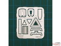 HME045 Winter car accessories Etched metal Accessoires