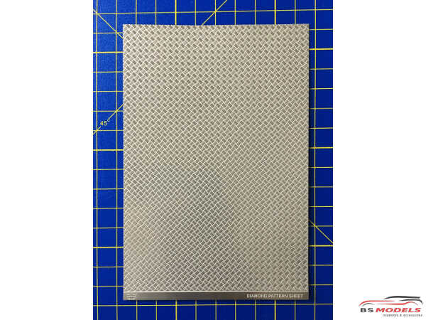 HME046 Diamond Pattern sheet Etched metal Accessoires