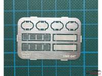 HME047 Air Cleaner set 2 Etched metal Accessoires