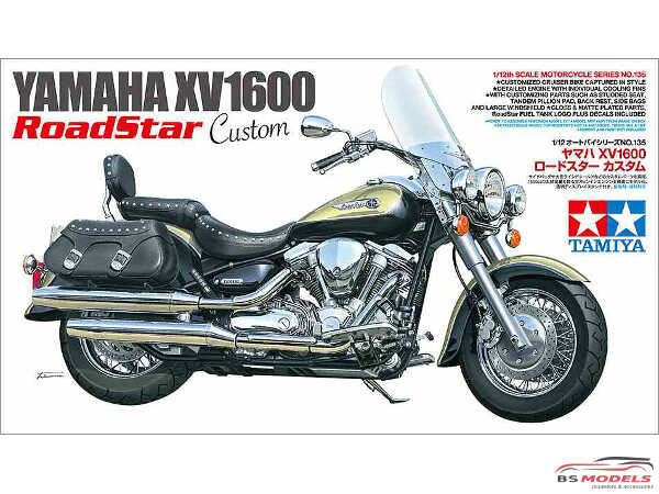 TAM14135 Yamaha XV1600  Road Star Custom Plastic Kit