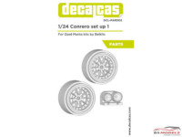 DCLPAR002 Conrero set up 1 Braid serie 1 D155 - Rally rims 15 inc + lights Resin Accessoires