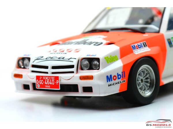 DCLPAR002 Conrero set up 1 Braid serie 1 D155 - Rally rims 15 inc + lights Resin Accessoires